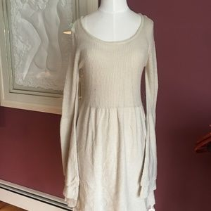 NWT Venus 2pc sweater dress w/lace cami MED